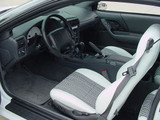 Camaro 97-2002 Seat Upholstery Kit , New Reproductions, Set, Front and Rear, Hampton Vinyl Leatherette WITH Houndstooth Inserts