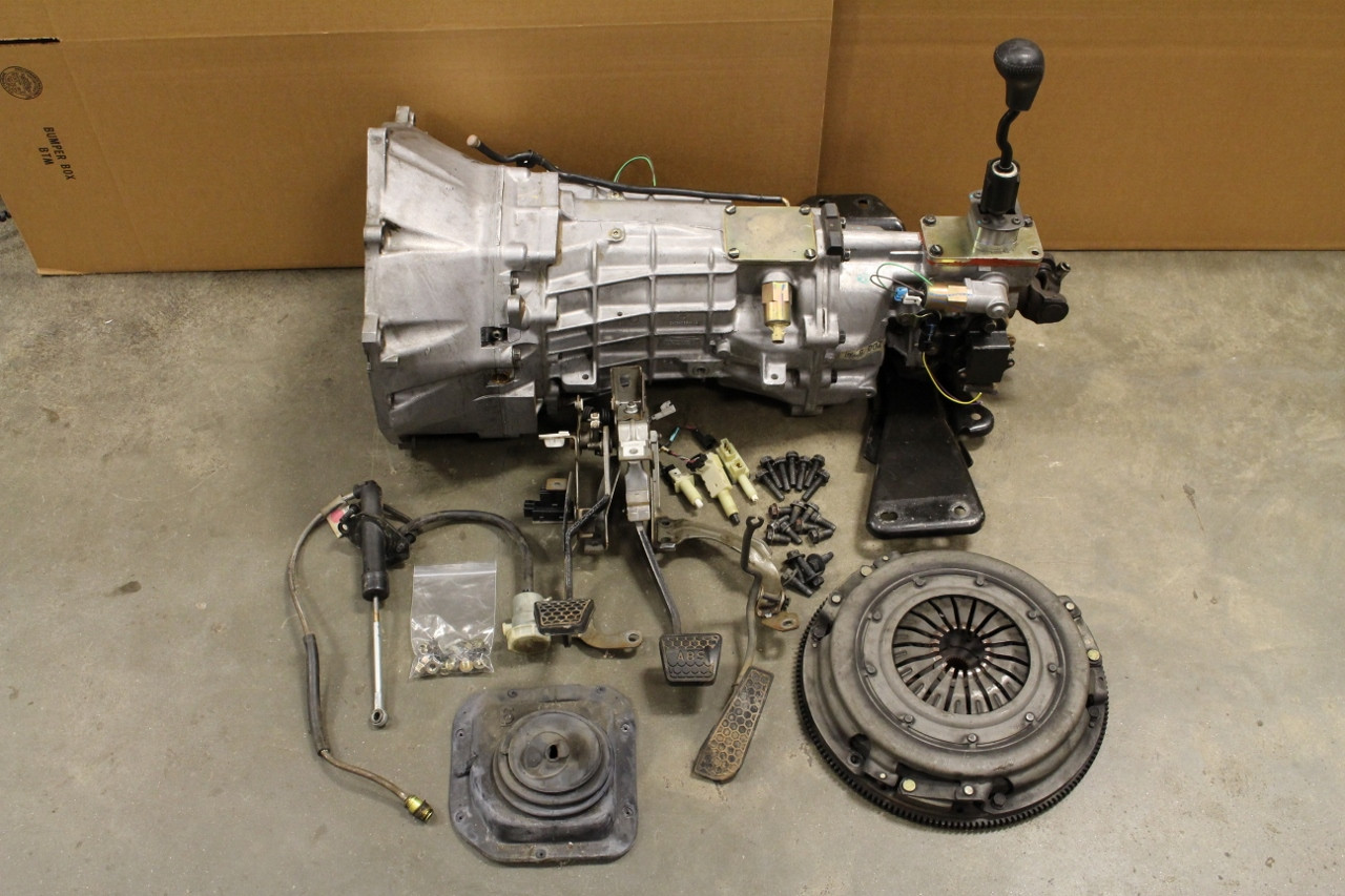 CamaroFirebird 98 02 LS1 6 Speed Conversion Complete