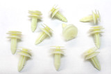 Door Panel Push Pin Clips, 82-92 Camaro/Firebird New GM, Package of 10