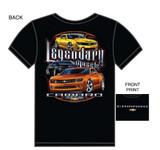 T-shirt, Camaro Men's Legendary Muscle, Black