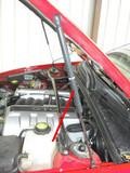 New GM 2004-06 Pontiac GTO Hood Strut