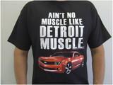 """T-shirt, Camaro Men's """"Ain't No Muscle"""", Black"""