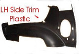 Trim Plastic, 82-92 Camaro/Firebird Driver LH Rear Hatch Side Trim Plastic