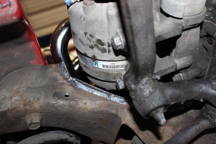 82 92 Ls1 Conversion Stock K Member A C Compressor Notch