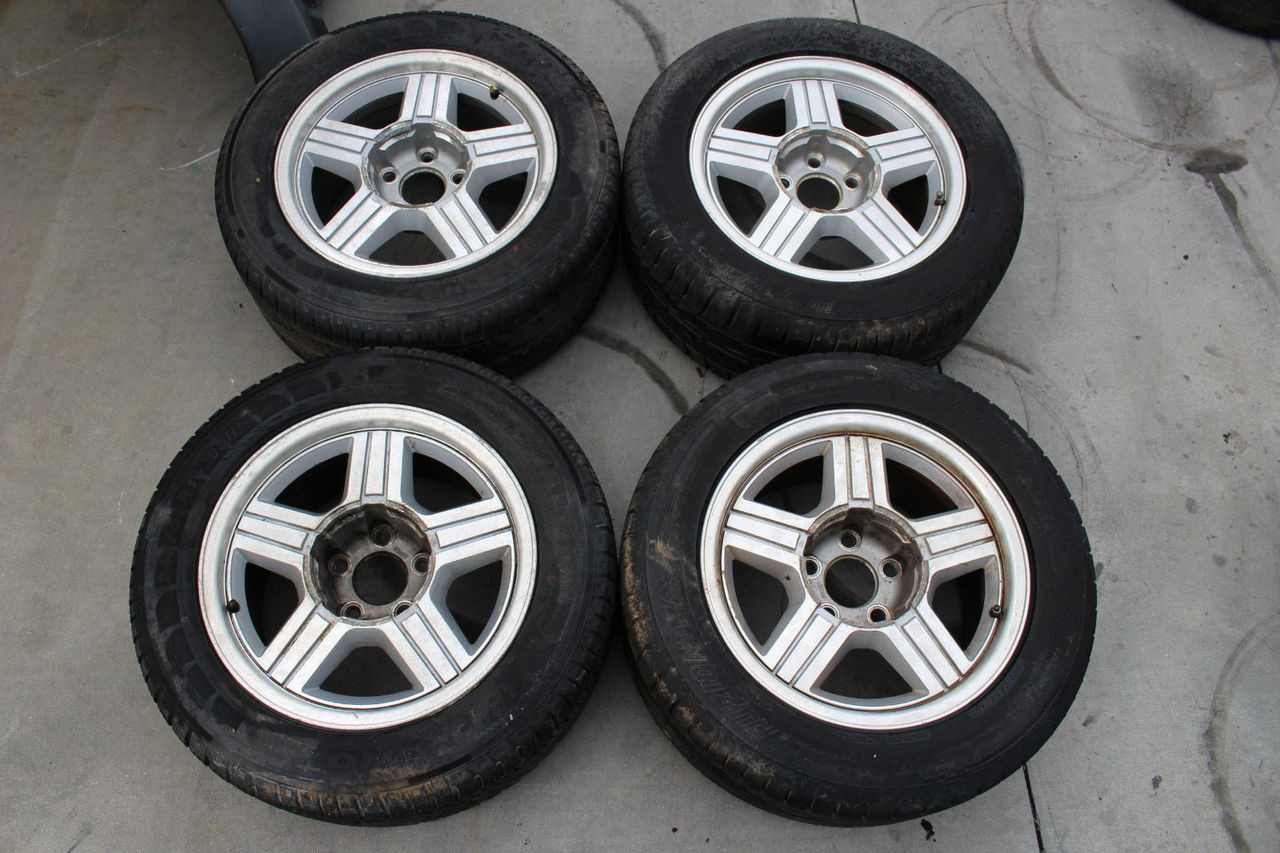 Gm Used Camaro Used 91 92 Z28 Rs Wheels Set Of 4 Hawks
