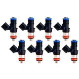 80lb LS3 LS7 LS9 LSA 850cc Flow Matched Bosch Injectors, Set of 8
