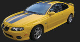 2004 Pontiac GTO Rally Stripe Kit