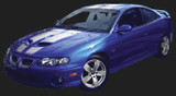 2005-06 Pontiac GTO Rally Stripe Kit