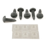 82-88 Camaro/Firebird Interior Hatch Screw and Retainer Nuts Kit (QTY. 6), Gray