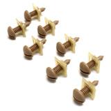 89-92 Camaro/Firebird Interior Hatch Screw and Retainer Nuts Kit (QTY. 8), Camel Tan