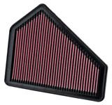 K&N Air Filter, 2009-2015 Cadillac CTS-V, 6.2L