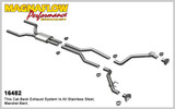Magnaflow Competition Series 2010-13 Camaro V8 6.2L, 2.5in. Cat Back, For GM Performance Package Only
