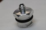 LSX LS1/LS6/LS2/LS3 Billet Valve Cover Oil Cap Adapter w/ -6 AN Fitting