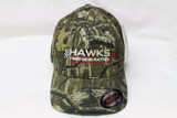 Hat, Hawks Third Generation Camo FlexFit Hat