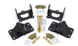 Solid Motor Mount Kit, UMI Performance, 82-92 Camaro / Firebird