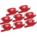 Coil Packs, LS2/LS7 MSD Multiple Spark Coil Pack, Set of 8