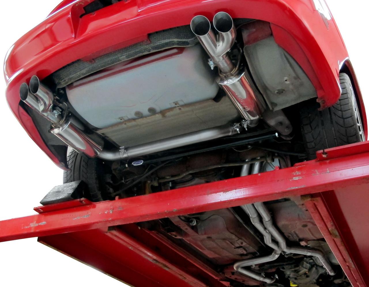 Hooker Blackheart Dual Exhaust Kit 98 2002 Camaro