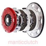 Mantic Clutch, LS1 LS2 5.7L 6.0L V8 9000 Series Sprung Street Organic Twin Disc