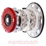 Mantic Clutch, LS2 LS3 6.0L 6.2L LS7 7.0L V8 9000 Series Sprung Street Cerametallic Twin Disc