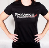 HAWKS MOTORSPORTS Ladies Bella Canvas T-shirt