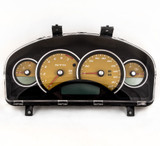 04-06 Pontiac GTO Holden Commodore 200mph Instrument Gauge Cluster Devil Yellow  92172959
