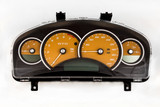 04-06 Pontiac GTO Holden Commodore 200mph Instrument Gauge Cluster Fusion Orange 92184021