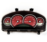 2004-06 Pontiac GTO Holden Commodore 200mph Instrument Gauge Cluster Red  92172960