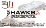 Hawks Motorsports Gift Card