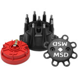 MSD Distributor Cap, GM HEI, 87-92 Late Model, Small Diameter Cap & Rotor Kit