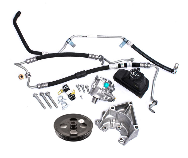 Zl1 Lsa 6 2l Engine Power Steering  plete Conversion Kit W Lines on 2009 ford mustang