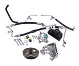 ZL1 LSA 6.2L Engine Power Steering Complete Conversion Kit w/ Lines