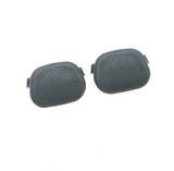 91-92 Firebird Cupholder Plugs, Gray, Pair, Reproduction