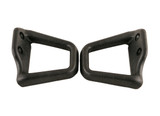 1993-2002 Camaro/Firebird Coupe Ebony/Black Seat Belt Shoulder Guide-Pair, New Reproduction