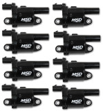 Blaster Gen V GM Coils, 2014 and Up, Round - 8 Pack, MSD