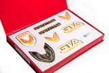 Firebird 87-90 GTA Emblem Set, White