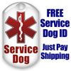 Free Service Dog Tags