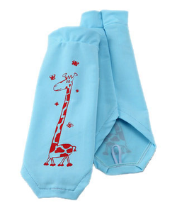 GIRAFFE CLASSIC LIGHT BLUE SUN SLEEVES PRODUCT
