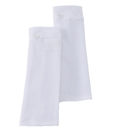 WHITE SOLID SKATE SUN SLEEVES PRODUCT CLEAR