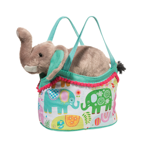 purse, gift for young girls, elephant, sassy sack