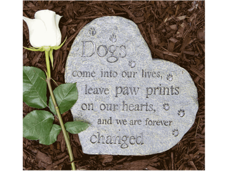 memory stone, grief, loss, pet loss, death, pet death