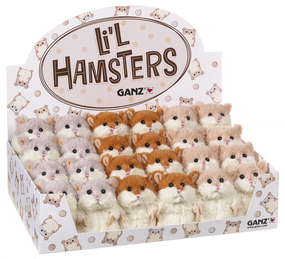 hamster, little hamster, luck, soft, toy