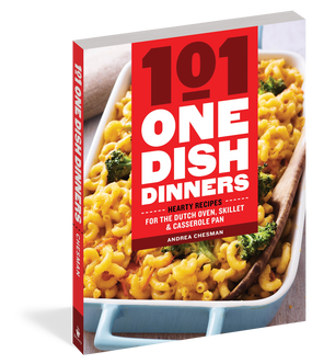 recipes, one dish dinner, cookbooks