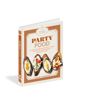 recipe books, parties, party food, holiday