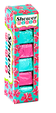 tropical oasis shower burst minis, bath, shower, fizzy, fragrance, tropical, made by hydra