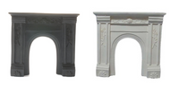White or Black Resin Fire Surround.