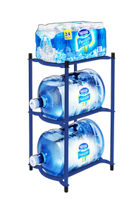 Deep Ocean Blue Modular Bottle Rack