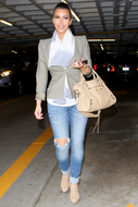 Jet by John Eshaya Hippie Fade jeans as seen on Kim Kardashian