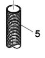 Suction Hose Lower for CV30 & CV38 Vacuum