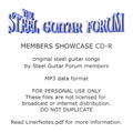 SGF Members Showcase MP3 CD