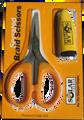 Solar Tackle Serrated Braid Scissors